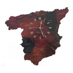 Spain Clock
