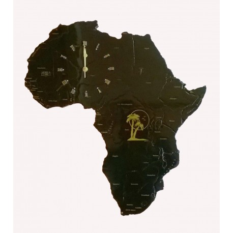Africa Clock
