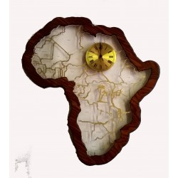 Africa Acrylic Clock